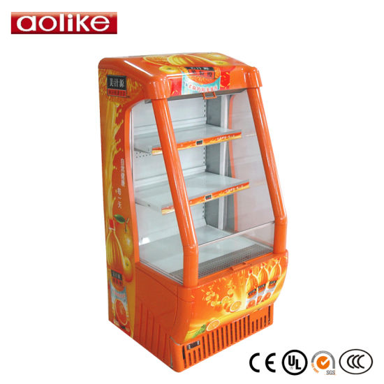 Supermaket Mutideck Open Chiller for Chocolate pictures & photos