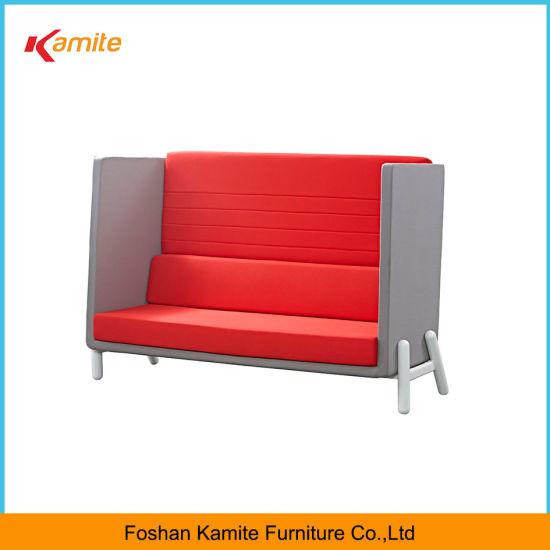 Wholesale Office Modern Wood Fabric Lounge Sofa