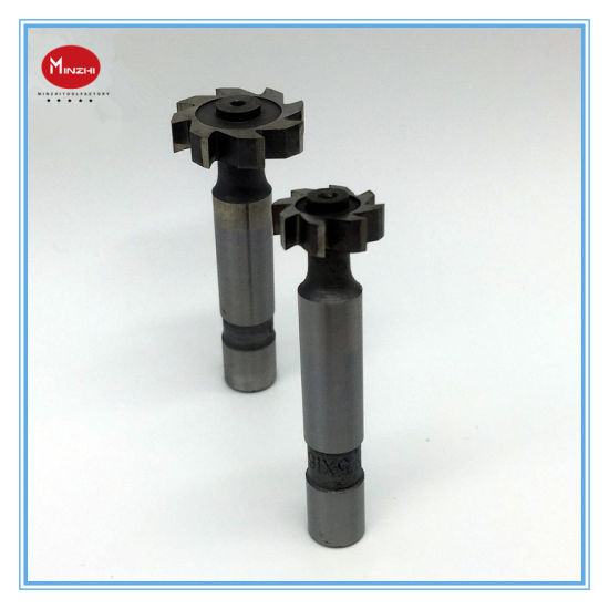 HSS Straight Shank Trapezoidal Groove Milling Cutter
