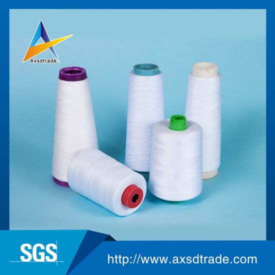 Polyester Fabric Yarn Sewing Thread Knitting Yarn for Embroidery pictures & photos