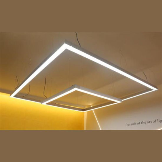 suspended linear lighting. LED Linear Trunking System Suspended Light Lighting