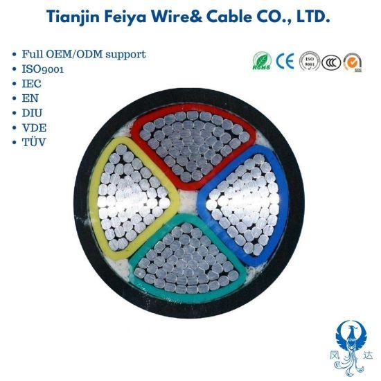 Factory Supply Al / XLPE / Swa / PVC Power Cable Yjlv / Yjlv22