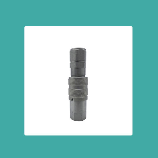 Flat Face ISO 16028 Quick Disconnect Couplings Double Shut-off NPT/Bsp