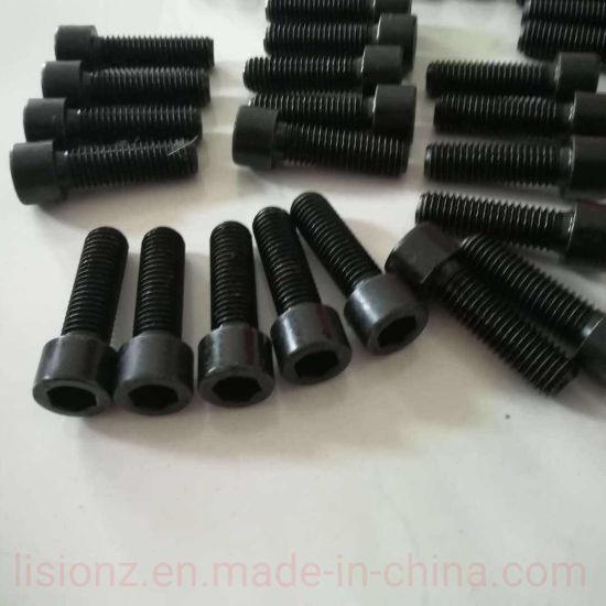 Black Oxide Hex Bolt, Carbon Steel Hex Bolt