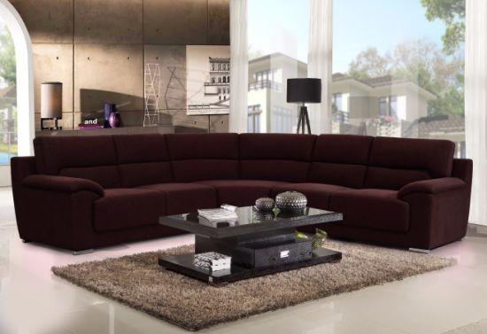 China Modern Living Room Curved Corner