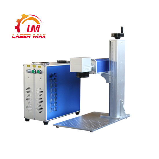 Wholesale Price China 20W 30W 50W Split Fiber Laser Marking Machine for Stainless Steel for Metal Engraving