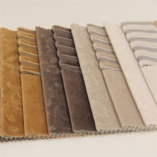 Yigao Textile 100%Polyester Luxurious Style Twill Sofa Velvet Fabric