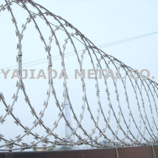 Galvanzied Razor Wire Bto-22 Djibouti Market