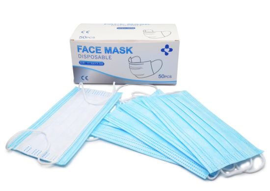 Disposable Face Mask, 3ply Medical Face Mask