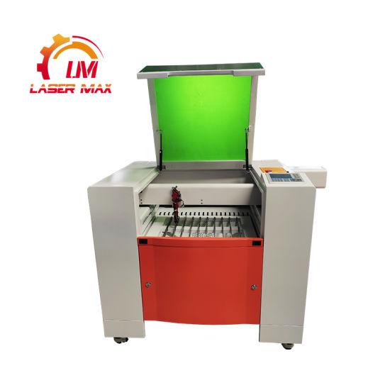 80W 100W Hiwin Rail Guide Ruida System Acrylic Wood Paper 4060h CO2 Laser Machine