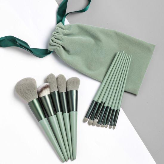 13PCS Factory Hotselling Synthetic Hair Cosmetic Brush Blending Brush
