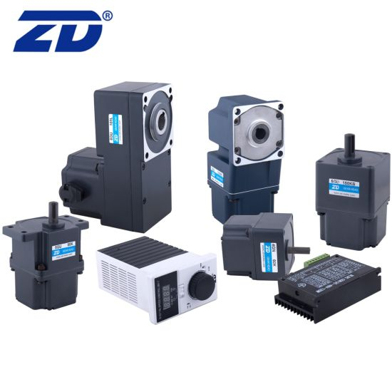 ZD 60mm 80mm 90mm 104mm 24V 48V 110V 220V 15W-750W High Performance Electric BLDC Brushless DC Gear Motor With Speed Controller