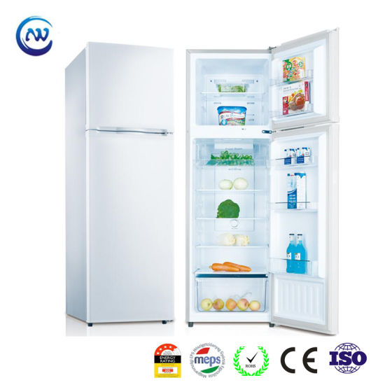 268L Hotel and Home Use White House Upright Freezer Fridge with Gems Meps Approved Kd-268fw