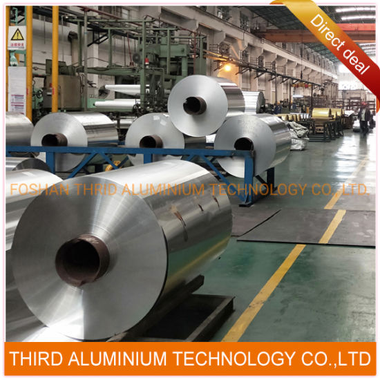 Aluminum Foil for Heat Exchangers Clading/Brazing 3003/1060/1100/3004/4343/4045 with Factory Price
