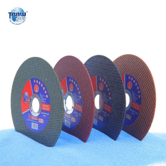 105mm 115mm 125mm 180mm 230mm 350mm China Resin Bonded Cutting Wheel for Metal Steel