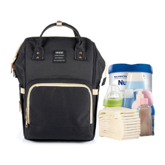 OEM Polyester Mother Nappy Diaper Bag 2020 Changing Baby Backpack