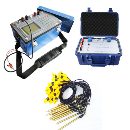 Electrical Resistivity Tomograph Ground Water Detector, Geophysical Resistivity Meter, Geophysical Survey Equipment and Water Survey Equipment Detector