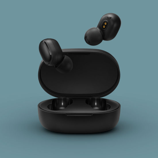 For Xiaomi Redmi Airdots Black Bluetooth Earphones Mi True Wireless Earbuds Bluetooth 5 0 Tws Air Dots Headphones Dsp With Mic Headset China Airdots And Headphone Price Made In China Com