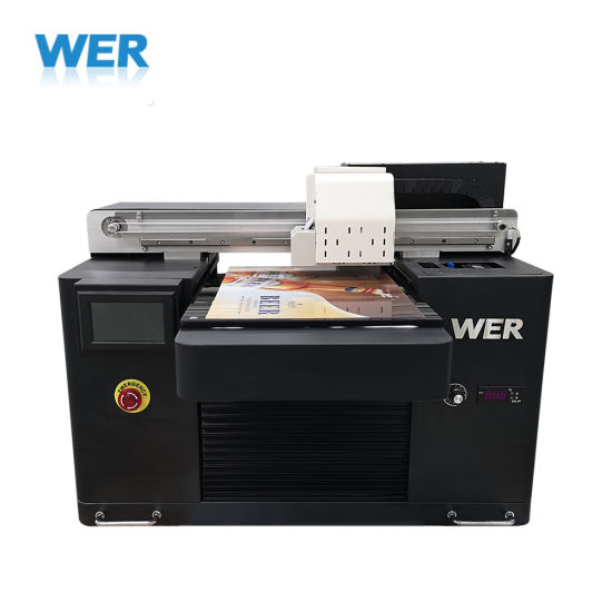 Small Size UV LED Flatbed Printer A3 Size 3D Printer for Bottle Pen Phone Case Golf Ball Metal Plastic Glass