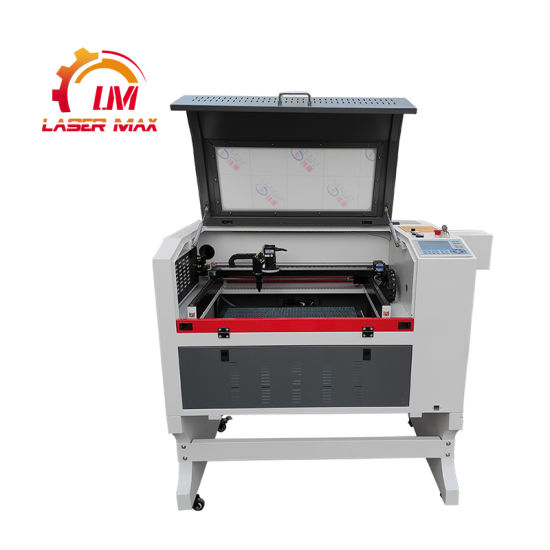 Jinan Laser Max CCD Camera CO2 Laser Cutting Machine 80W 100W for MDF Acrylic Wood