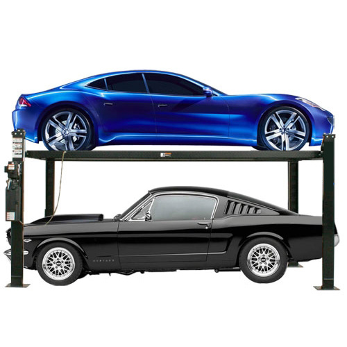 Four Column Hydraulic Car Parking Lift with CE