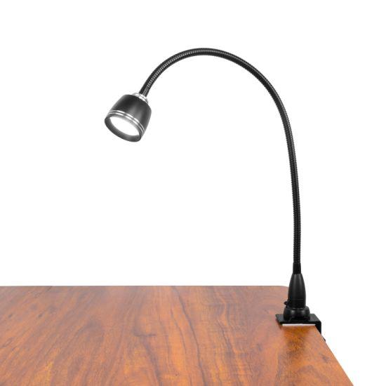 Led Desk Lamp With Clamp Stepless, Adjustable Led Desk Lamp
