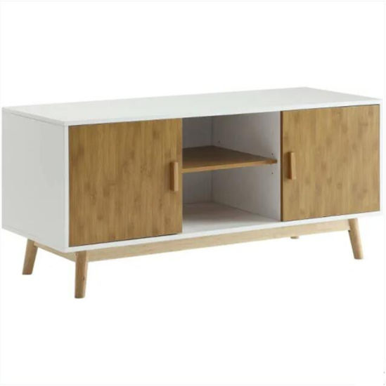Modern Wooden White TV Stand Furniture pictures & photos