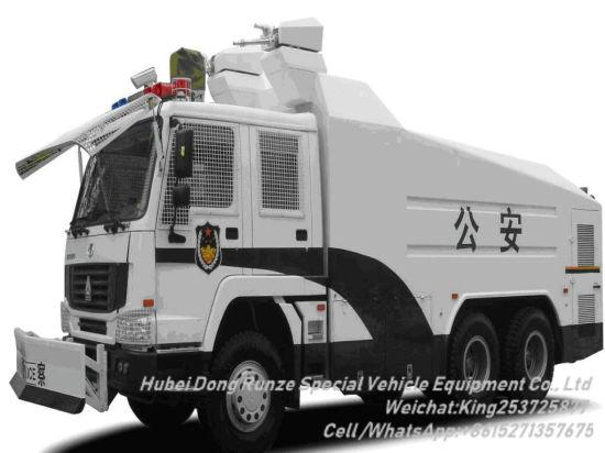Sinotruck HOWO Anti Riot Water Cannon Vehicle Customizing 6X6 /6X4