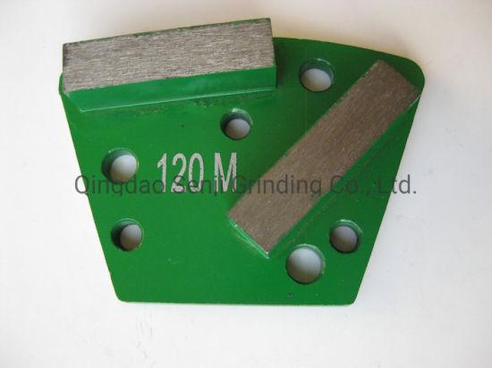 Metal Bond Diamond Grinding Plate Shoe Diamond Metal Grinding Pad for Concrete Grinding