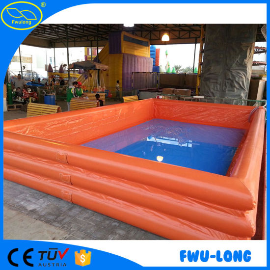 Elegant PVC Tarpaulin Indoor Outdoor Customized Inflatable Pool