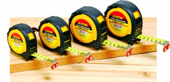 30m ABS Fast Rewinding Long Steel Tape Measure with Double Marked Blade pictures & photos