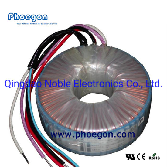 120V to 12V Ring Low Frequency/Volt Transformer Multiple Output Toroidal Transformers for Audio Equipments with Ce Approval R Core 900W 1000W 2000W 3000W 5000W