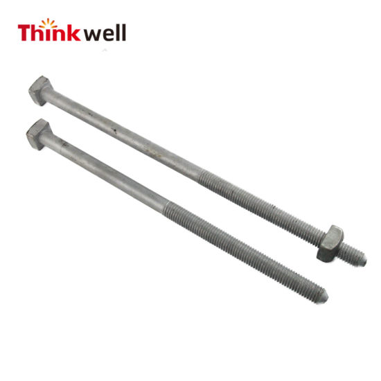 Chinese Factory Galvanized Helix Ground Screw Anchor
