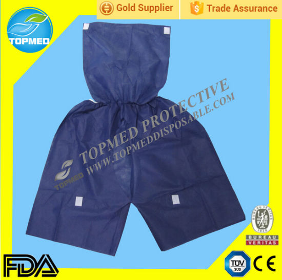 Nonwoven Disposable Short Pants for Hospital Examination, Disposable Colonoscope Pants pictures & photos