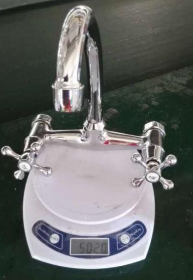 Two Handle Basin Mix Faucet (KX-TP1010)