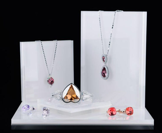 Acrylic Jewelry Set Stand, Necklace Holder