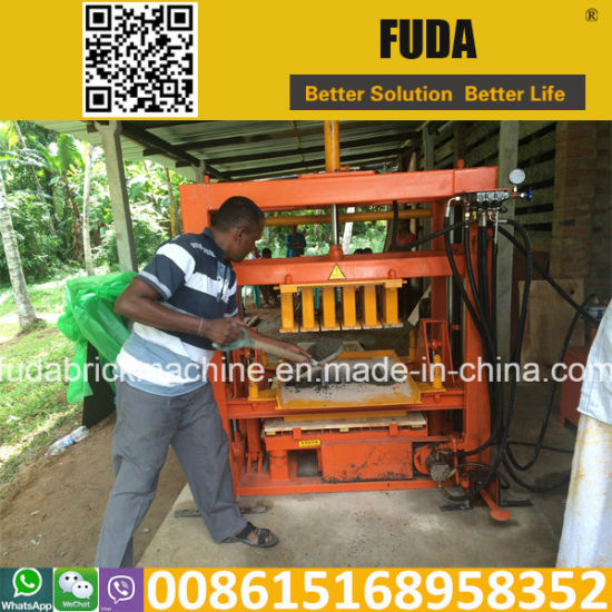 Hydraulic Diesel Engine Block Machine Qt4-30 pictures & photos