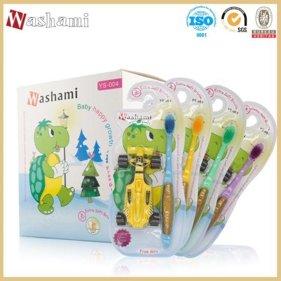 Washami 2in1 Toy Car and Children's Kid Toothbrush