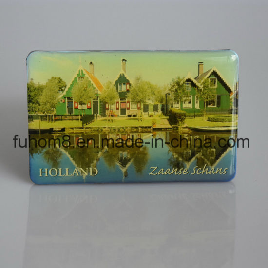 Custom Fashion Printed Epoxy Paper Fridge Magnet pictures & photos