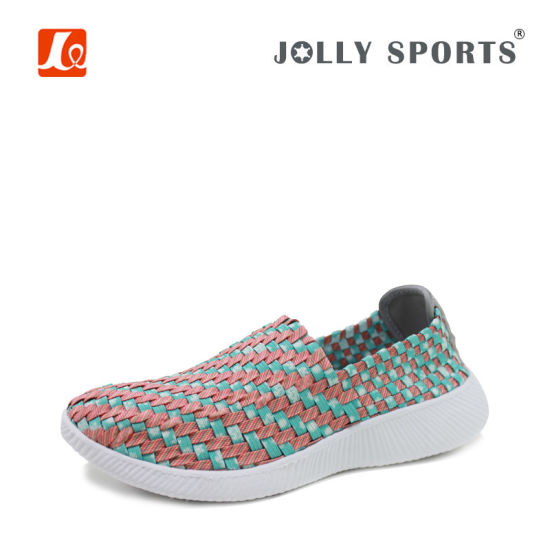 New Fashion Leisure Style Colorful Weave Shoes for Women Ladies pictures & photos