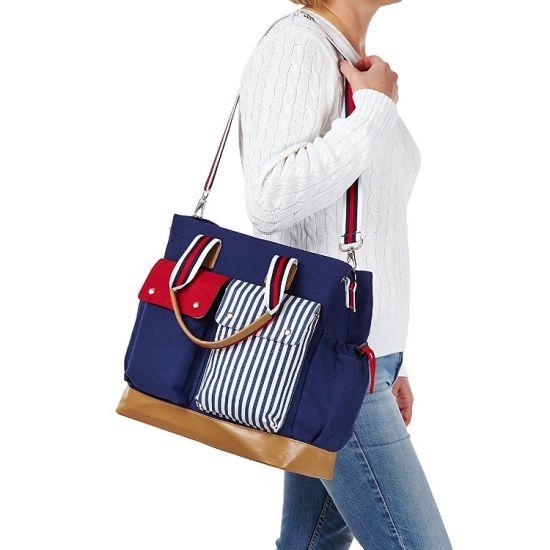 Multi-Prokets Baby Products Mummy Handbag Diaper Tote Single Shoulder Bag