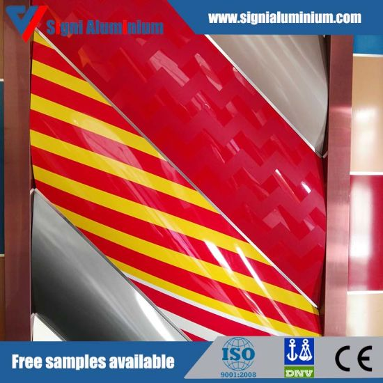 China PE/PVDF/Feve Colored Aluminum Sheet for Ceiling Decoration ...