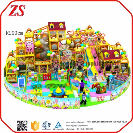 Toddler Playhouse Indoor Soft Play Equipment Indoor Playground Equipment Prices pictures & photos