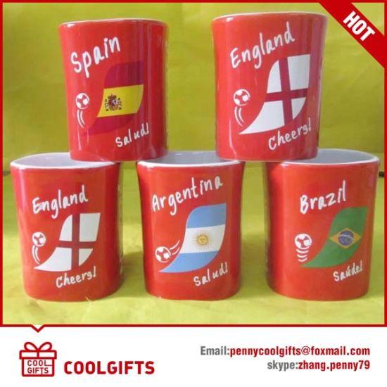 Promotional porcelain Tea Cup, Ceramic Mug with Customized Print