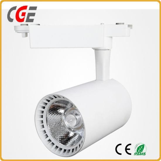 LED Track Lights PAR30 AC85-265V LED Ceiling Lamp CREE Chip LED Track Lighting LED Ceiling Spot LED Spotlight