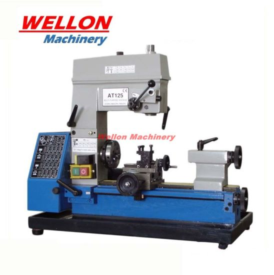 Multi Purpose Bench Turning Milling Drilling Machine At125 (Multi function 3 in 1 Bench Lathe drill mill)