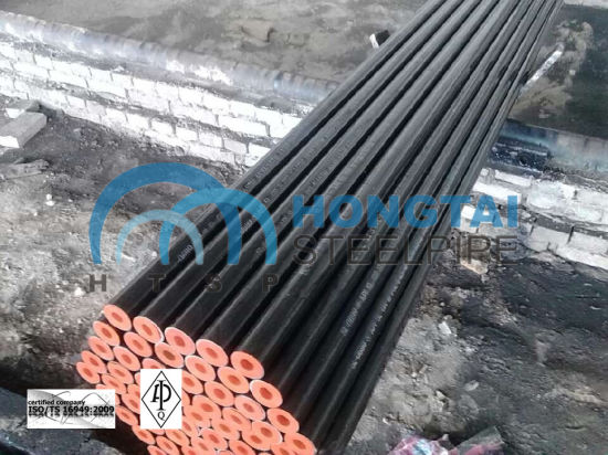 Supplier of Hot Rolled ASTM A106 Gr B Seamless Steel Pipe with API pictures & photos
