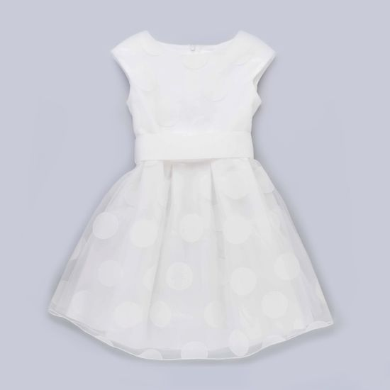 Organza Sleeveless Birthday Wear Baby Girls Party Dresses pictures & photos