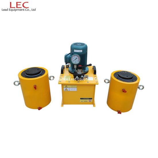 Double Acting Hydraulic Cylinder with Hydraulic Electric Pump