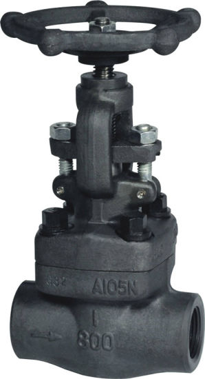 ANSI/ASME Forged Globe Valve (GLZ45X) Thread / Welded pictures & photos